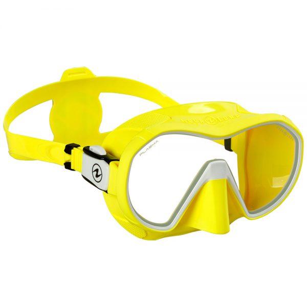 מסכת צלילה PLAZMA צהובה