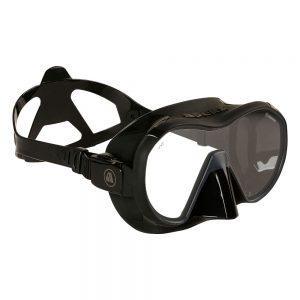 מסכת צלילה VX1 APEKS שחורה מבט צד