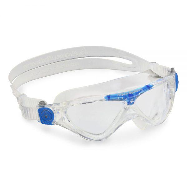 מסכתמסכת שחייה ילדים VISTA JR AQUASPHERE - שקופות, שקוף/כחול שחייה ילדים VISTA JR AQUASPHERE - שקופות, שקוף/כחול