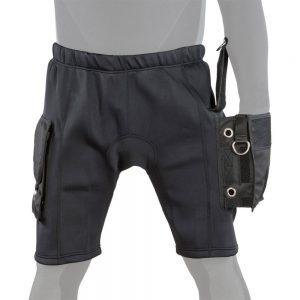 מכנס נאופרן עם כיסים